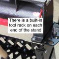 Universal Stand End Tool Rack