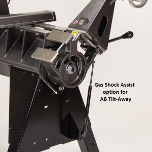 Gas shock assist for Tilt Away