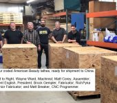 Robust Ships American Beauty Lathes To China