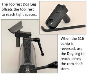 Tool Rest Dog Leg