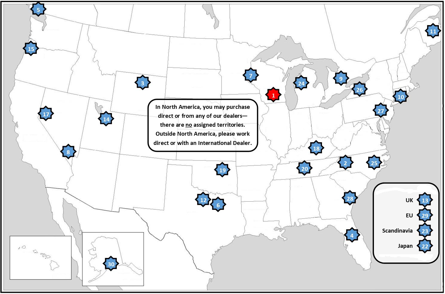 Robust Dealer Map